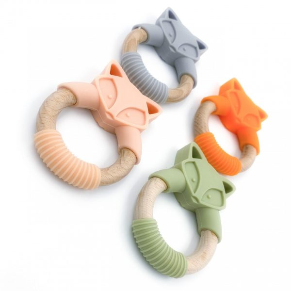 fox teething toy