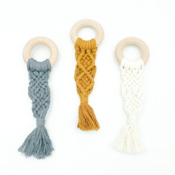 Ring Teether Macramé