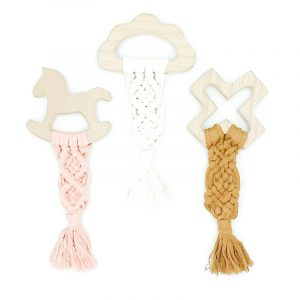 Macramé Shape Teether