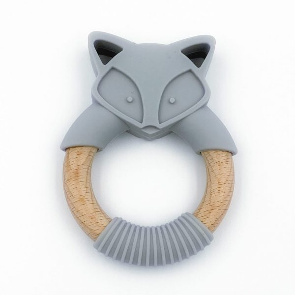 Fox Teether grey