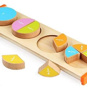 Fraction Puzzle Board