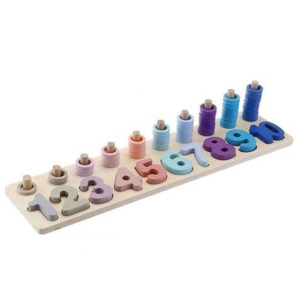 Number Stacking Board