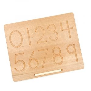 Number / Shape Tracing Board – Double Sided