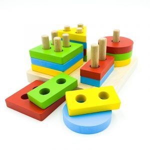 Shape Sorting Puzzle – Prime Colours
