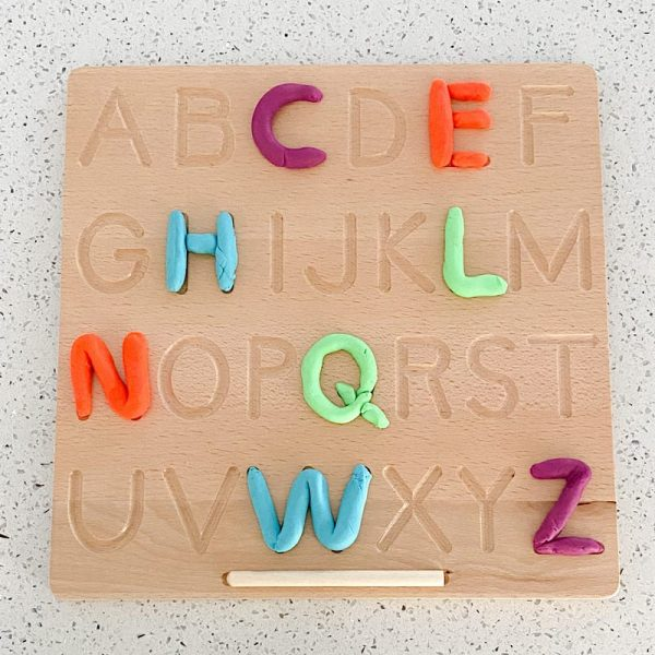 Double Sided Alphabet Tracing Board