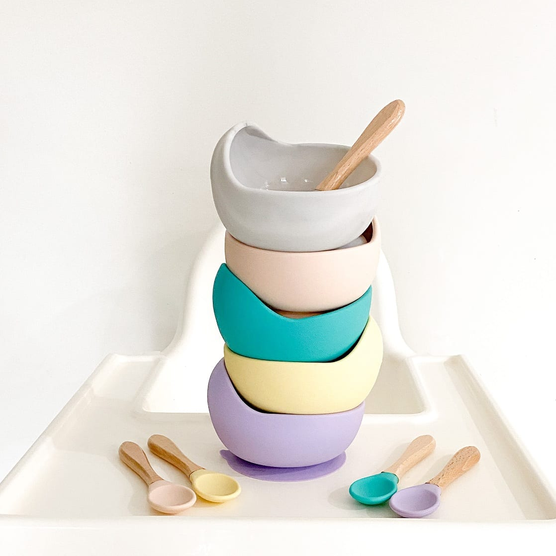 baby bowl and spoon set