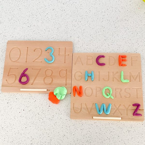 Number and Letter Tracing Board bundle