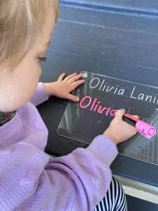 Personalised First and Last Name Tracing Board