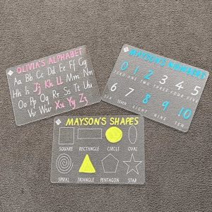 Personalised Tracing Board Bundle Pack