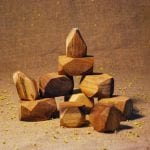 Natural wooden gems