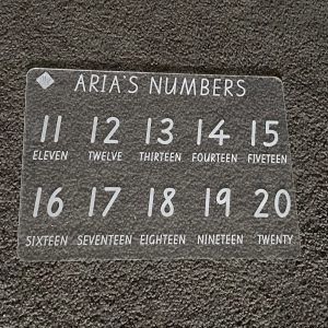 Numbers Extension Learning Board
