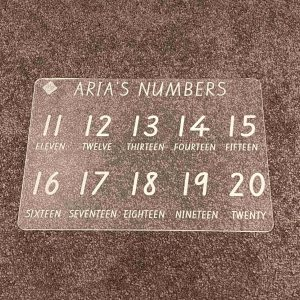 Numbers extension board