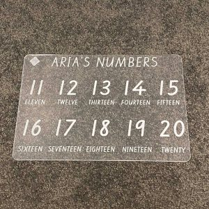 Numbers Extension Learning Tracing Board