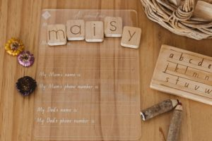 All About Me Tracing Board