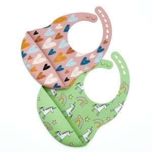 Silicone Pattern Bibs — Why You Need a Silicone Bib for Your Baby