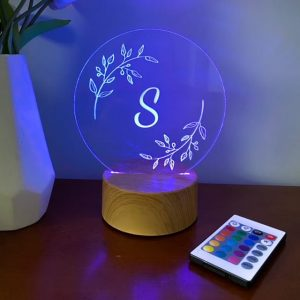 Leaf Wreath Night Light