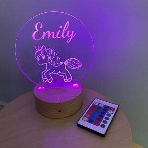 Dancing Unicorn Night Light