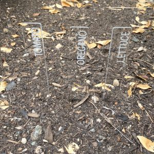 Vegetable and Herb Garden Markers